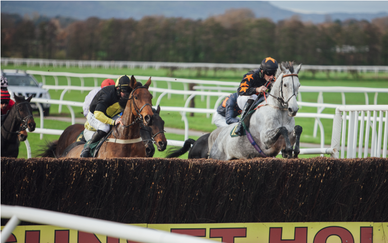 Six hunt races across the day - starting at 1.40pm